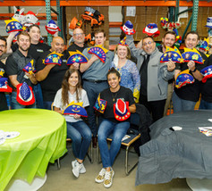 Sea Electric Decorating Hats for Hospitalized Children at Harbor UCLA