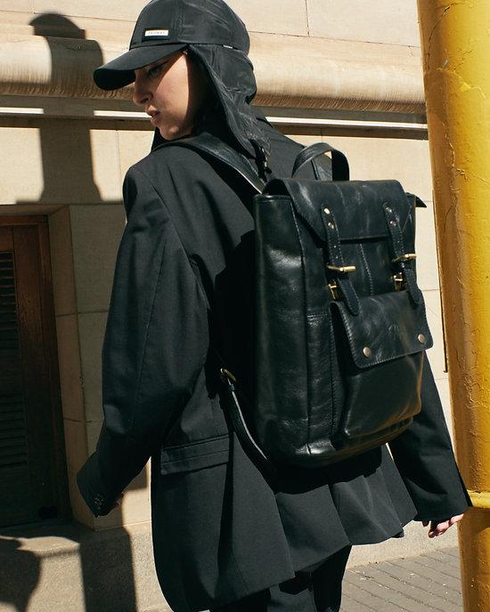 Black leather backpack.jpg
