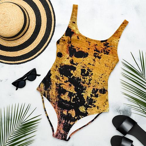 "One-Piece Swimsuit ""Cat"""