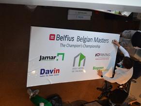 Préparatifs du Belfius Belgian Masters