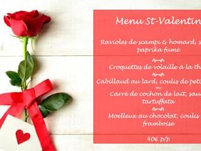 Fêtez la Saint Valentin à Falnuée