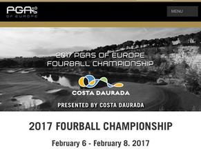 Nos Pros au Championnat 4 Balles de la PGAEurope