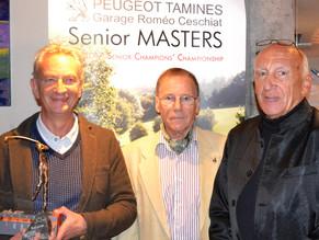 F. Bonnelance & C. La Porta sont les Seniors Masters 2017