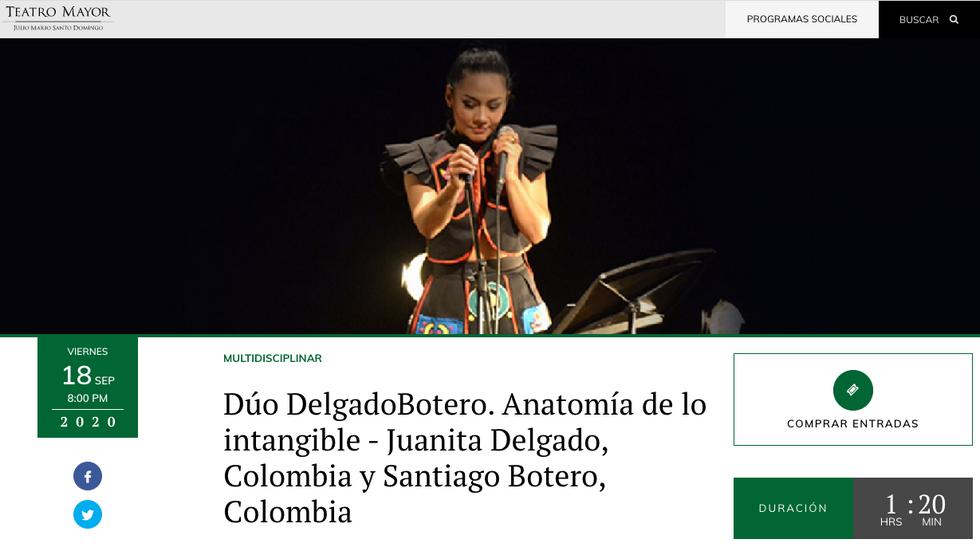 BoteroDelgado en el Teatro Julio Mario Santodomingo