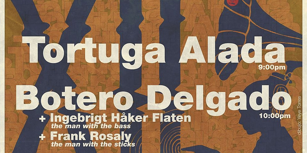 BoteroDelgado + Ingebrit Haker Flaten y Frank Rosaly