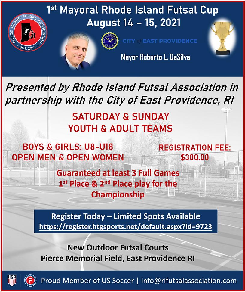1st Mayoral Rhode Island Futsal Cup 2021