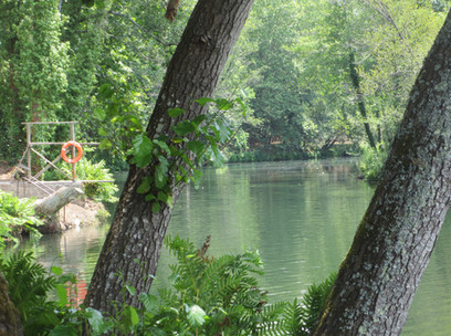 wild river swimming Lousã