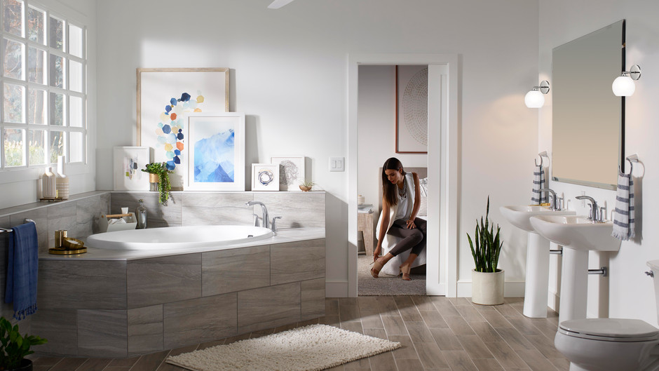 Five budget-friendly master bathroom upgrades you'll love for years.
