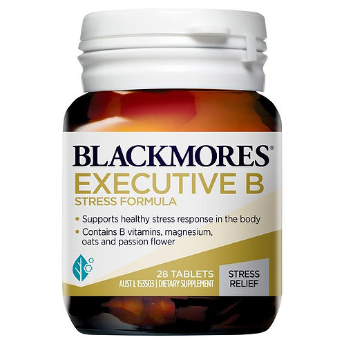 Blackmores Executive B Stress Formula 28 Tablets