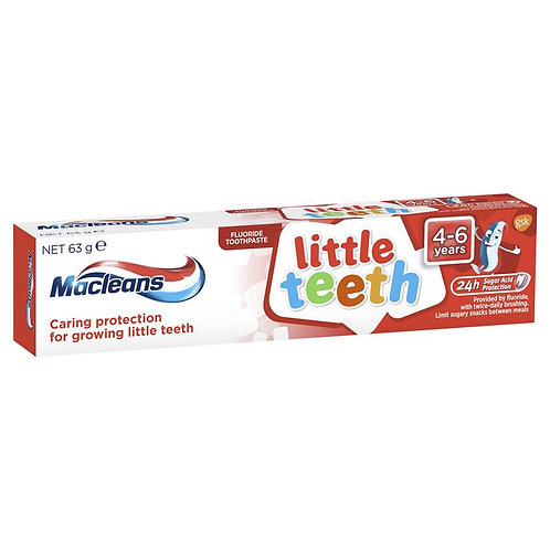 Macleans Little Teeth Kids Toothpaste 4-6 Years 63g