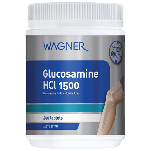 Wagner Glucosamine HCL 1500 400 Tablets