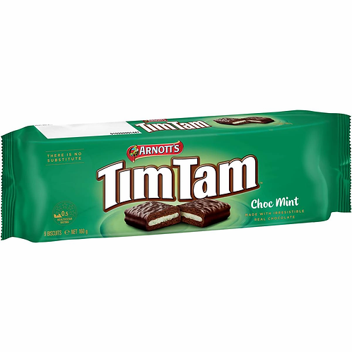 Arnott's Tim Tam Choc Mint 160g