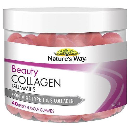 Nature's Way Beauty Collagen 40 Gummies
