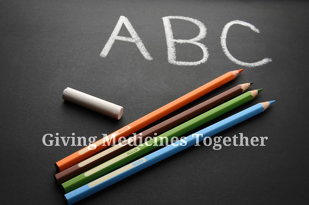 giving-medicines-together