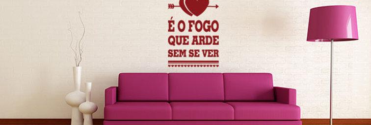 Amor é fogo...