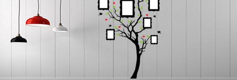 Árvore molduras