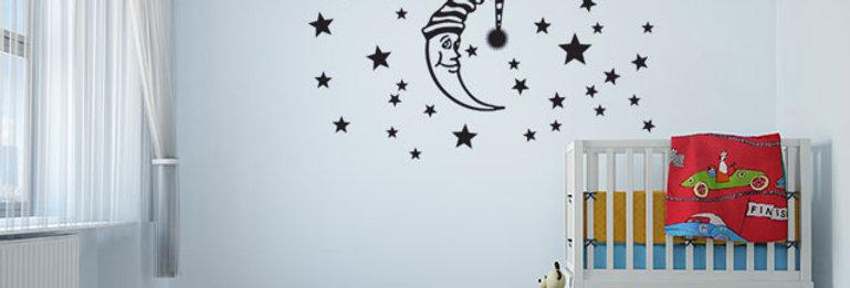 Lua e Estrelas