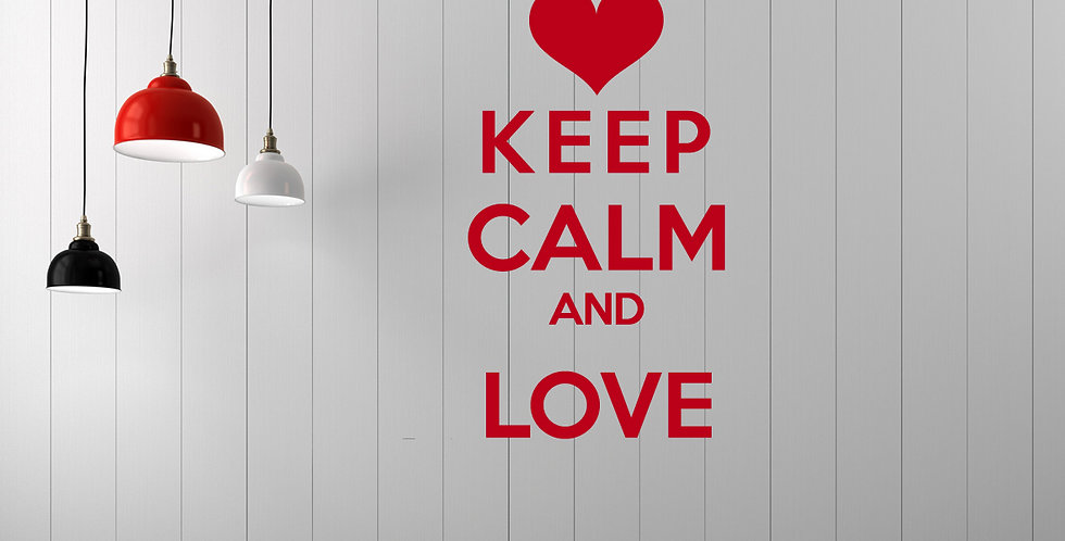 Keep Calm (só texto)