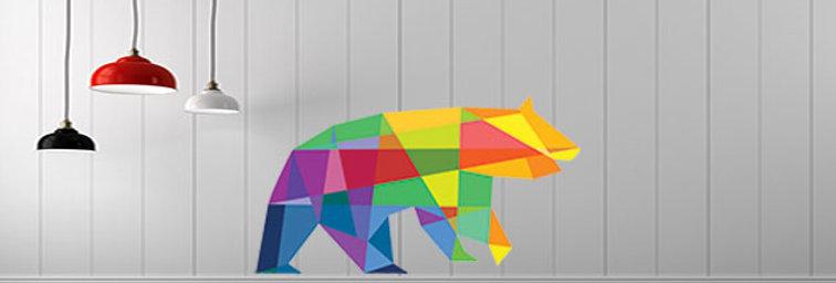 Urso cor