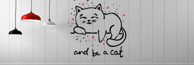 Keep Calm Be a Cat