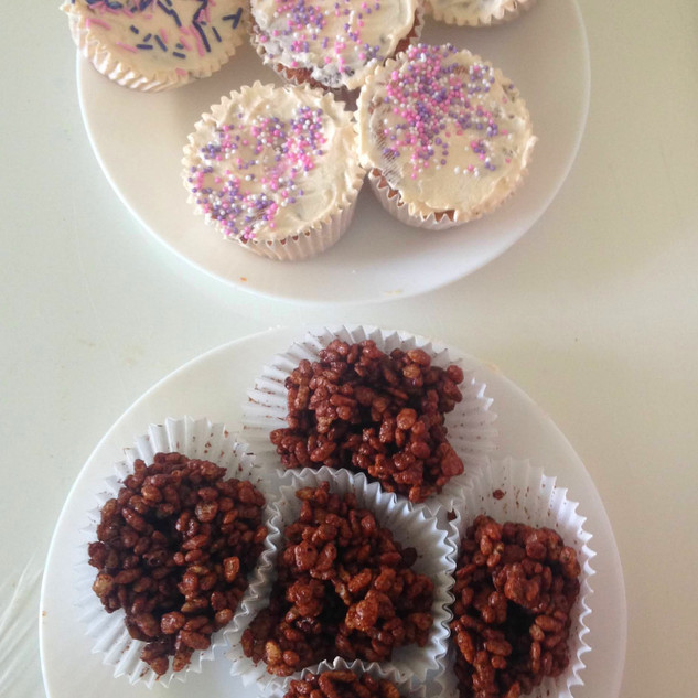 Party food made by one of our Ark members!
