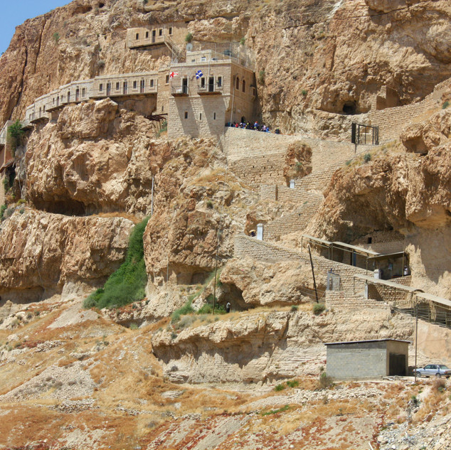 Rahab's house was on the edge of Jericho. The spies would have had a long climb down!