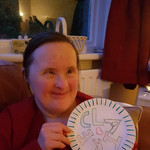 A fab party plate made for our craft challenge!