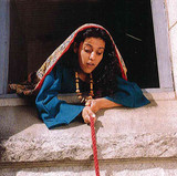 Rahab used a red rope to help the spies escape.