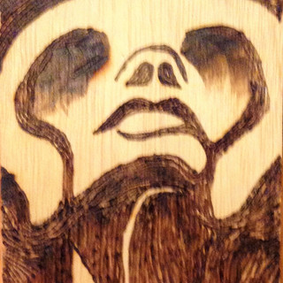 Woodburing study