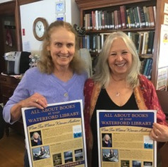 Jane and Charlene at Waterford Library
