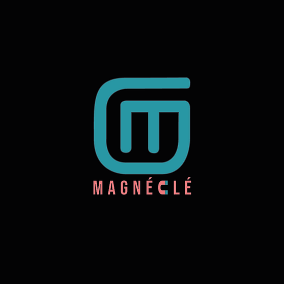 Logo Magnéclé (zwarte achtergrond).png