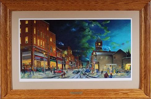 A parlor City Christmas Color Camera sho