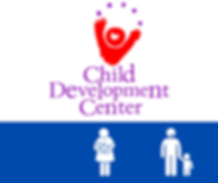 Child Development Center Logo and Ages Served
