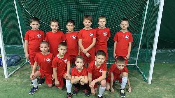 Команда п.Молодежный, тренер Шмелев А.Г.