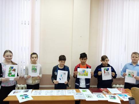 Дети клуба с.Александровское