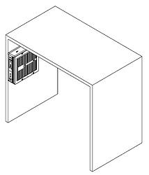 Equipamento na lateral com suporte vesa - Supera Computadores