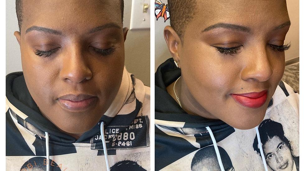 Minimalist Makeup Application