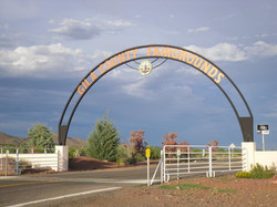 Gila County Fair Entrance