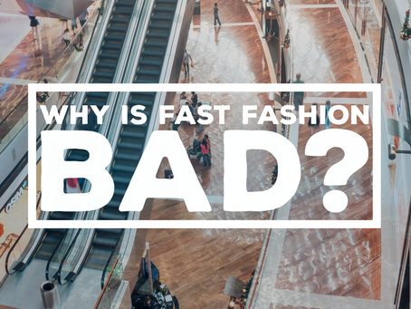 WHY IS FAST FASHION BAD FOR THE ENVIRONMENT?