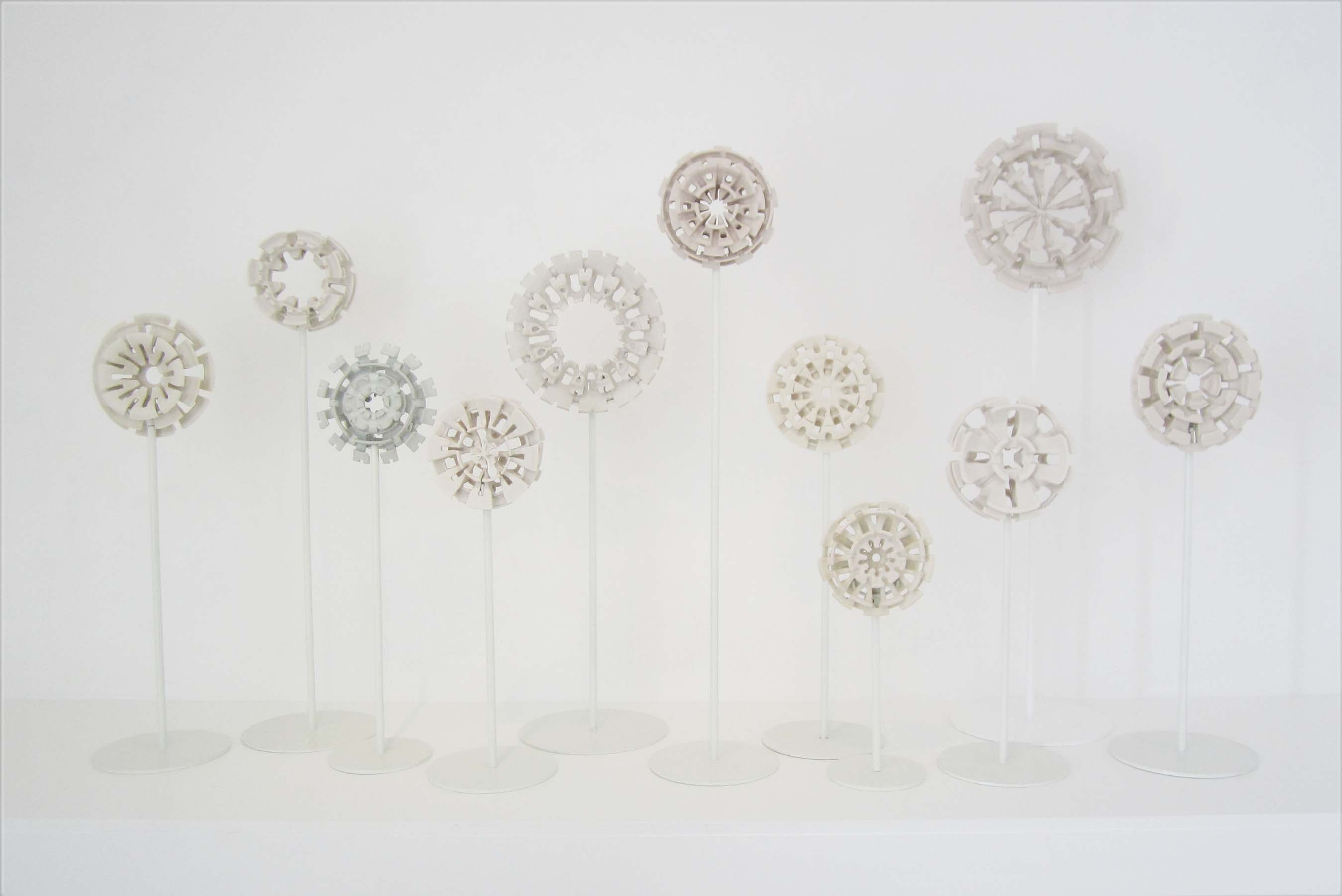 Flowers, Installation view