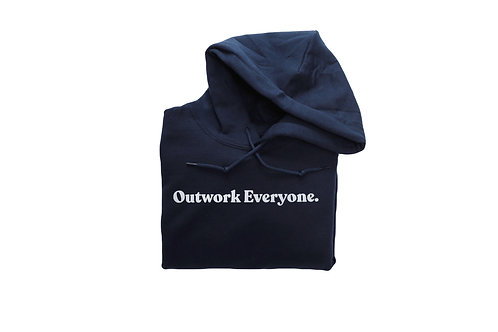 Outwork Everyone. Hoodie (Reflective)