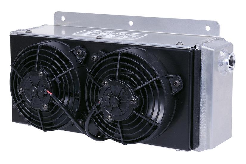 Small High-Flow Oil Cooler w/Fan