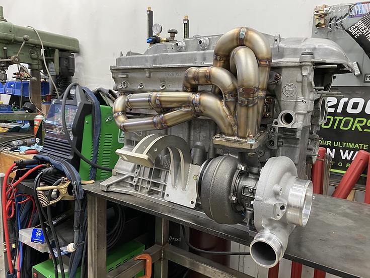 E46 turbo manifold