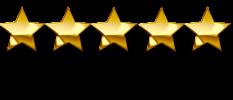 5 Estrelas douradas