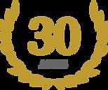 Logo Selo de 30 anos