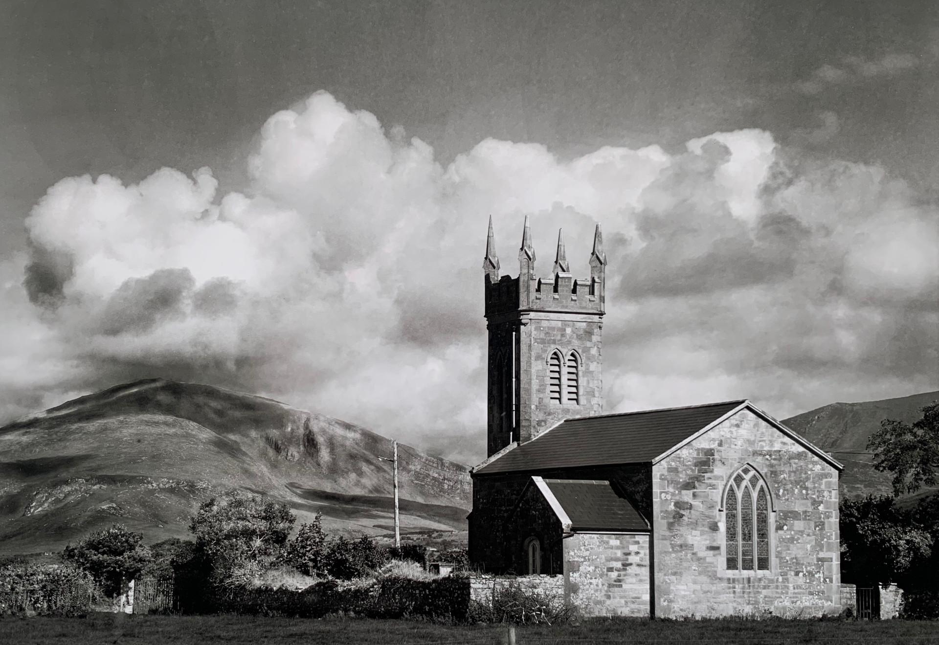 MONO - Rural Church near Dingle by William Browne (9 marks)