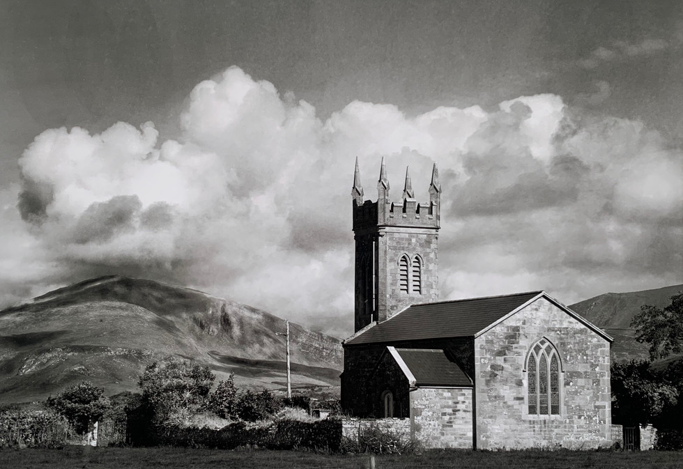 MONO - Rural Church near Dingle by William Browne (9 marks)