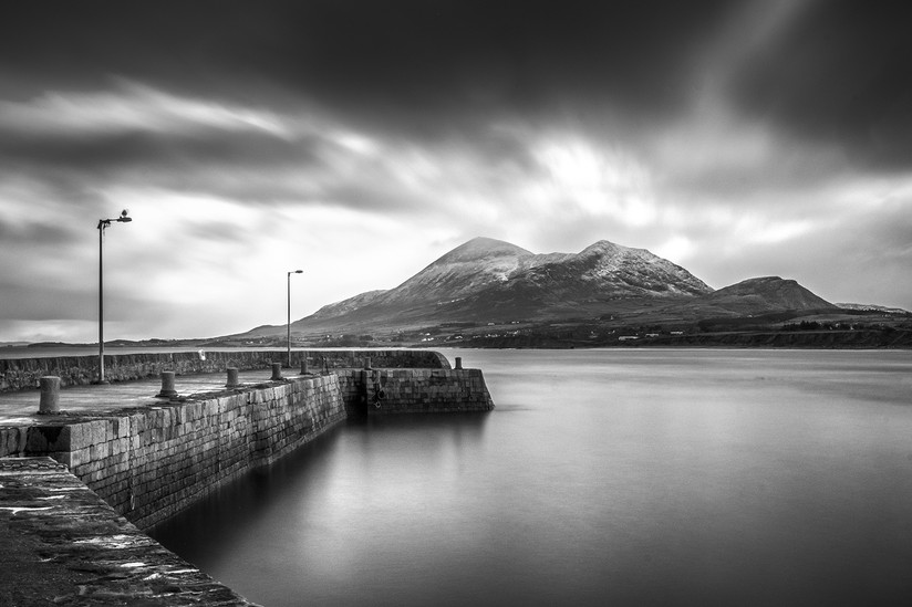 MONO - Old Head Pier by Roy Greer (9 marks)