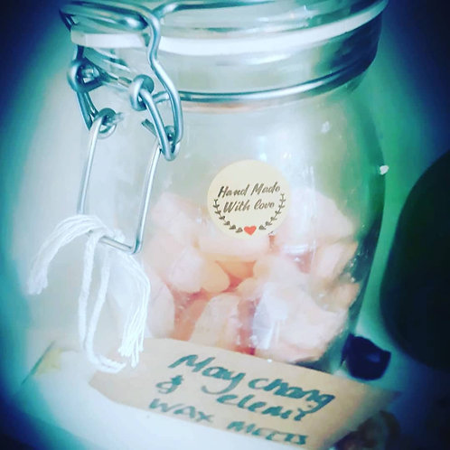 Luxury Soya Wax Melts with Mai Chang and Elemi essential oil