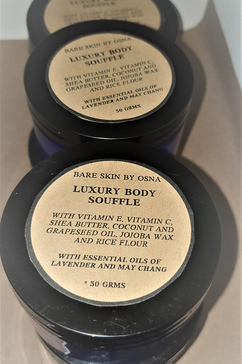 Luxury Body Soufflé  with Lavender and May Chang100 gms